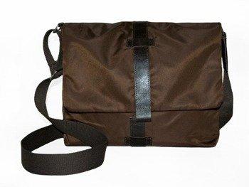 DAAG Zoom 2 brązowa torba unisex z kieszenią na tablet