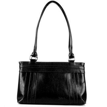 DAN-A T21 czarna torebka skórzana damska