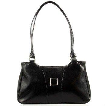 DAN-A T26 czarna torebka skórzana damska