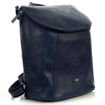 Plecak skórzany na tablet granatowy DAAG FUNKY GO! 29