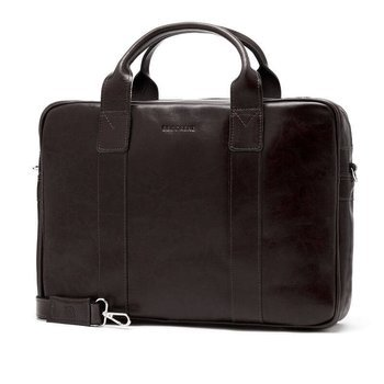 efa1ac4eb3462f Skórzana torba męska na laptopa BRODRENE R01 ciemnobrązowa
