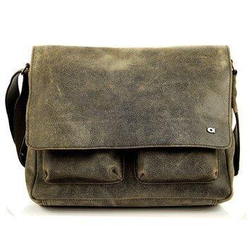 Skórzana torba unisex brązowa DAAG JAZZY RISK 162