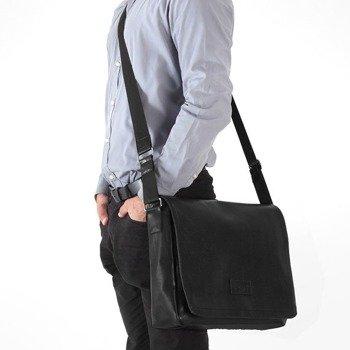 67e85a3451f0e Stylowa torba męska na ramię casual SOLIER S11 czarna