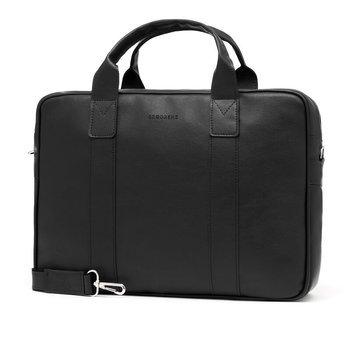 b747090702045 Torba męska na ramię na laptop casual BRODRENE B01 czarna. Promocja  Bestseller 17