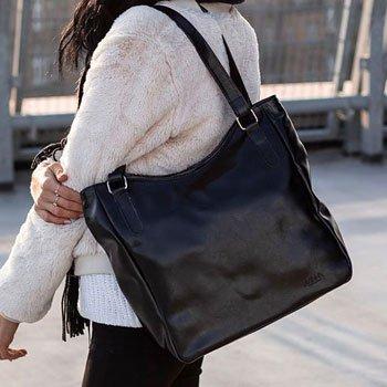 Shopper bag duże torebki miejskie | sklep