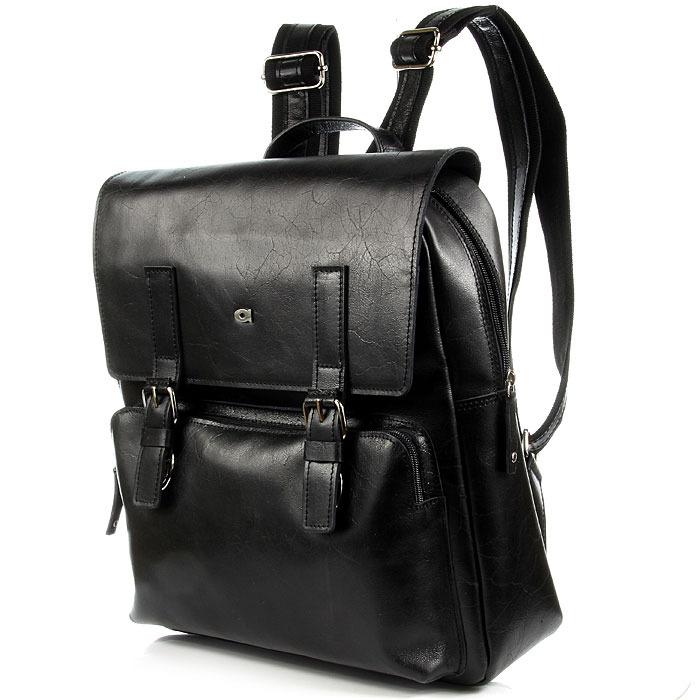 2efa054a74e34 DAAG Jazzy Party 58 skórzany plecak w kolorze czarnym - [13691 ...