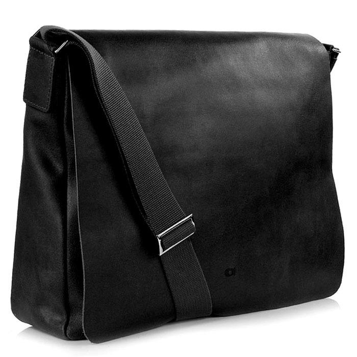 DAAG Jazzy Smash 74 czarna skórzana torba na tablet unisex