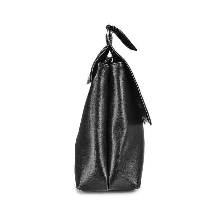 Skórzana damska teczka aktówka DAN-A T121 czarna