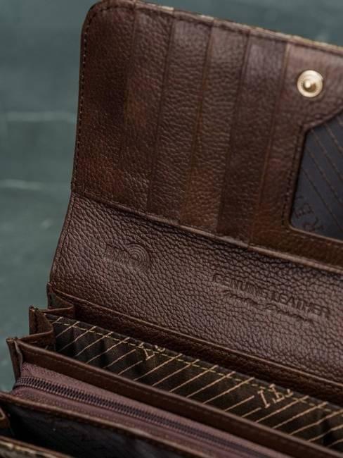 Portfel damski Lorenti brązowy 72037-PT BROWN