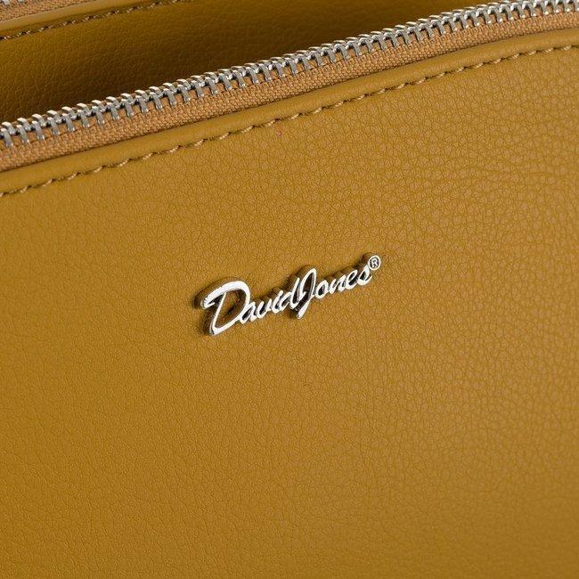 Torebka listonoszka żółta David Jones 6508-2