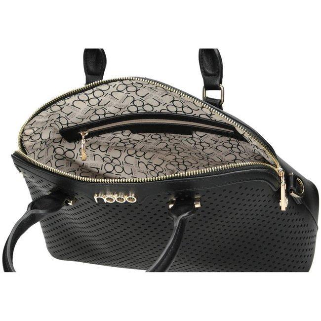 Ażurowa torebka czarna Nobo NBAG-I3550-C020