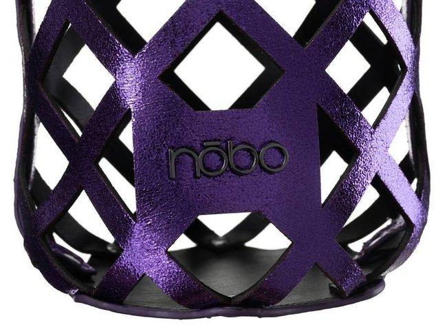 Ażurowy worek fioletowy Nobo NBAG-K3010-CM14
