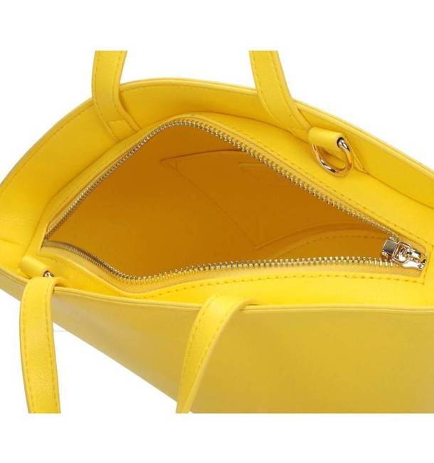 Basket bag żółty Nobo NBAG-K4230-C002