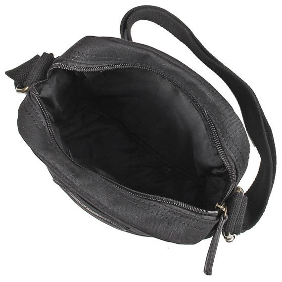 Bawełniana torba na ramię unisex 2JUS by DAAG Zone 5 czarna