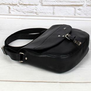 DAAG Jazzy Party 59 torba skórzana na ramię unisex czarna