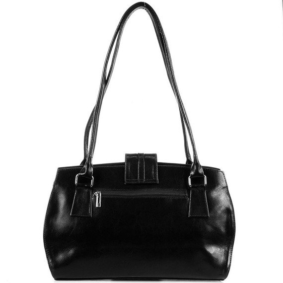 DAN-A T229 czarna torebka skórzana damska