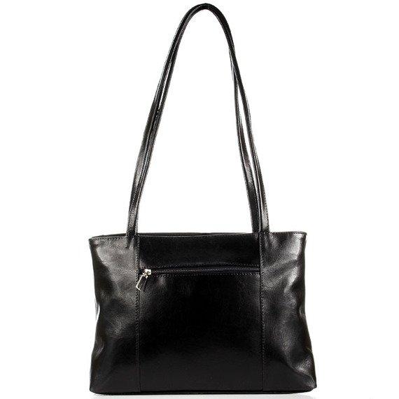 DAN-A T3 czarna torebka skórzana damska