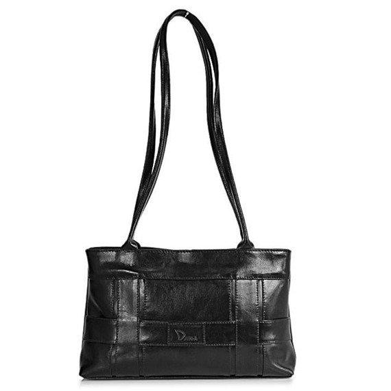 DAN-A T61 czarna torebka skórzana damska