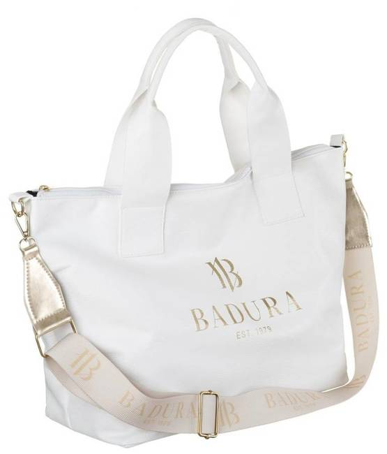 Duży shopper damski biały Badura T_D140BI_CD