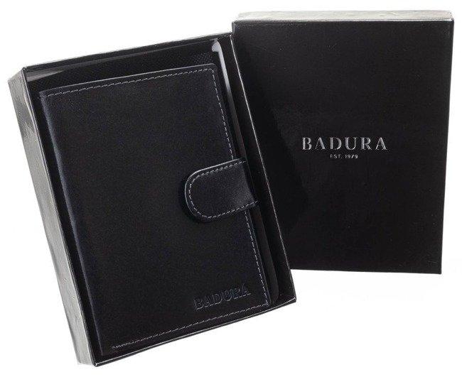 Elegancki portfel Badura czarny N104L VT