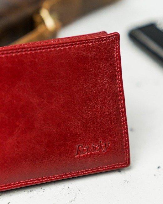 Etui na karty i dokumenty czerwone Rovicky N1904-RVTK RED