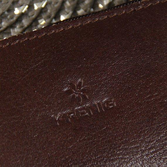 KRENIG Classic 12021 brązowe skórzane etui na klucze