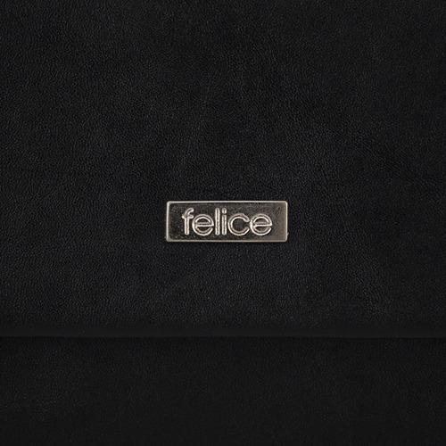 Kopertówka damska Felice F13 MAT czarna