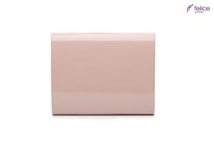 Kopertówka damska Felice F14 LAKIER różowa