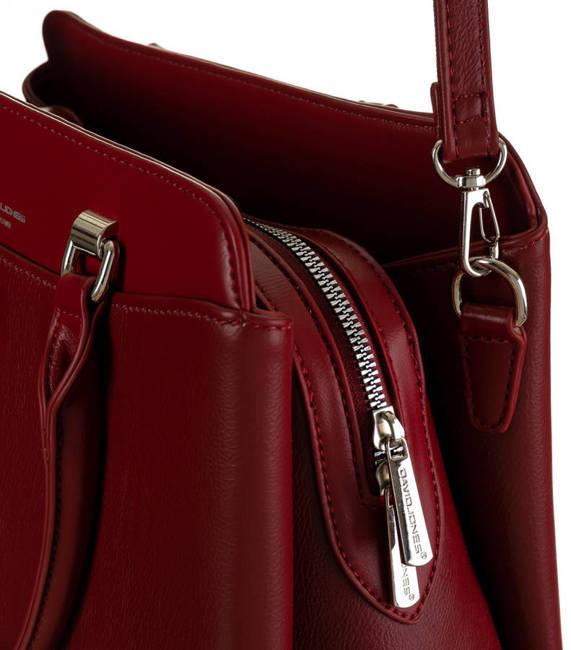 Kuferek bordowy David Jones 6601-2 DARK RED