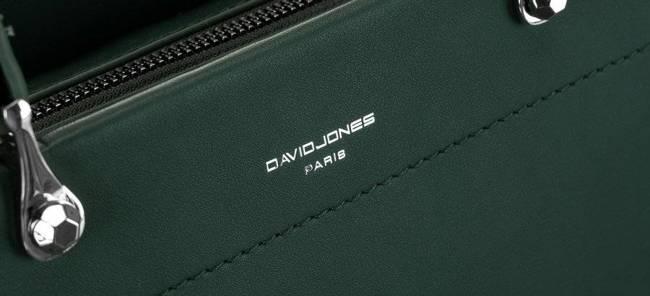 Kuferek c. zielony David Jones CM6059 GREEN