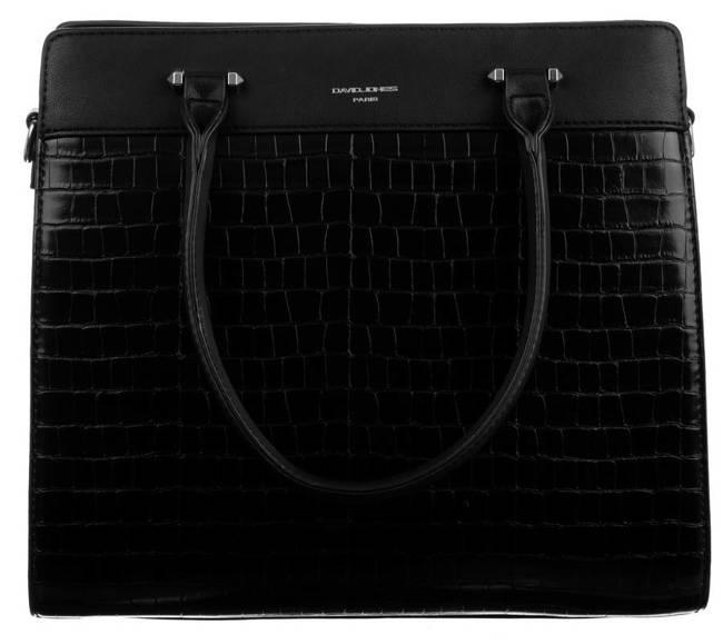 Kuferek czarny David Jones CH21025 BLACK