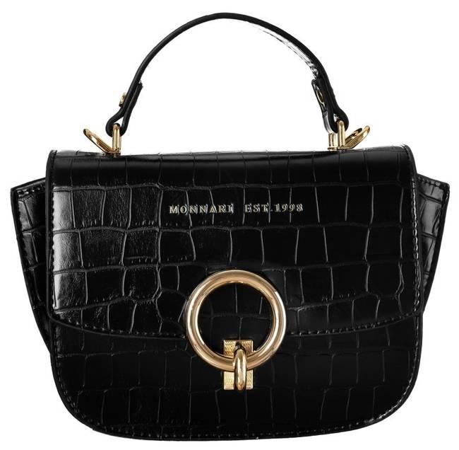 Kuferek damski czarny Monnari BAG2930-020