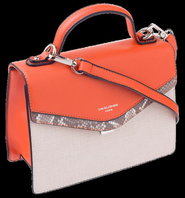 Kuferek damski pomarańczowy David Jones CM5678
