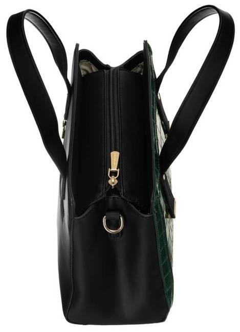Kuferek damski zielony Monnari BAG2310-008