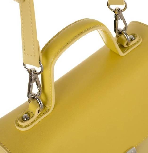 Kuferek damski żółty David Jones CM5706 YELLOW
