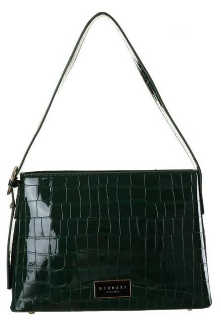 Lakierowana torebka c. zielony Monnari BAG2290-008