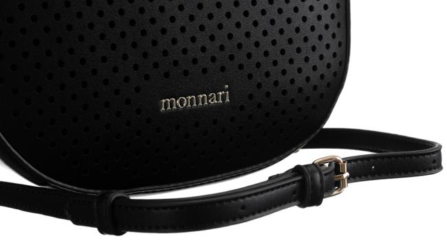 Listonoszka ażurowa czarna Monnari BAG0180-020