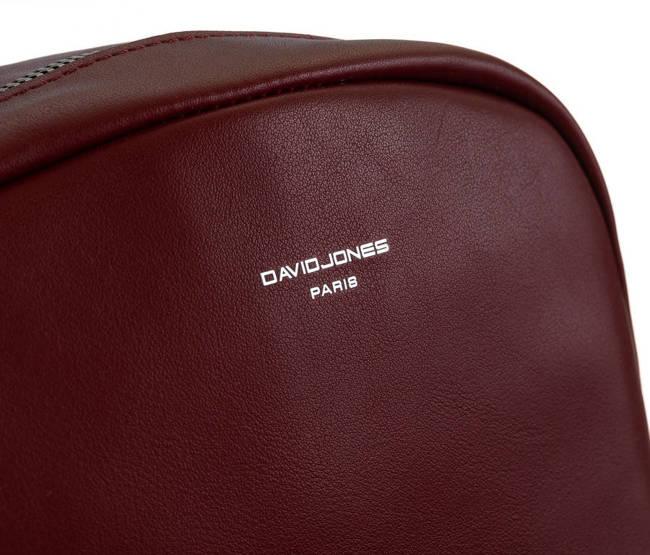 Listonoszka bordowa David Jones CM6266 DARK RED