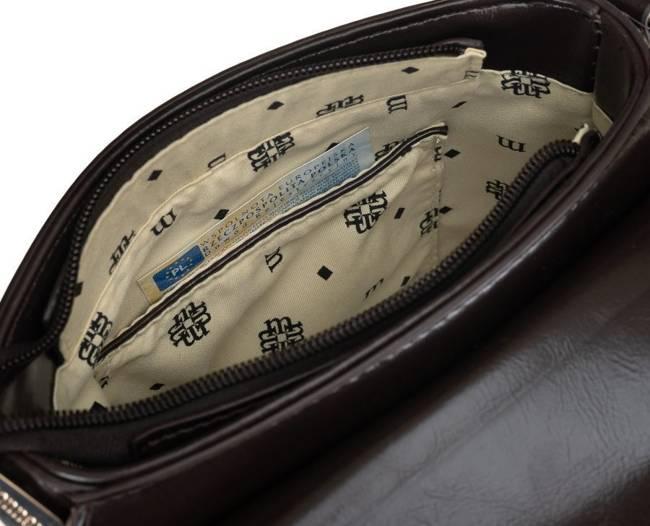 Listonoszka brązowa zeberka Monnari BAG2870-017