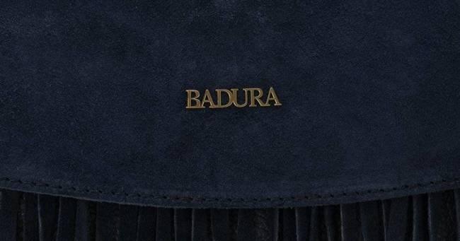 Listonoszka damska boho granatowa Badura T_D184GN_CD