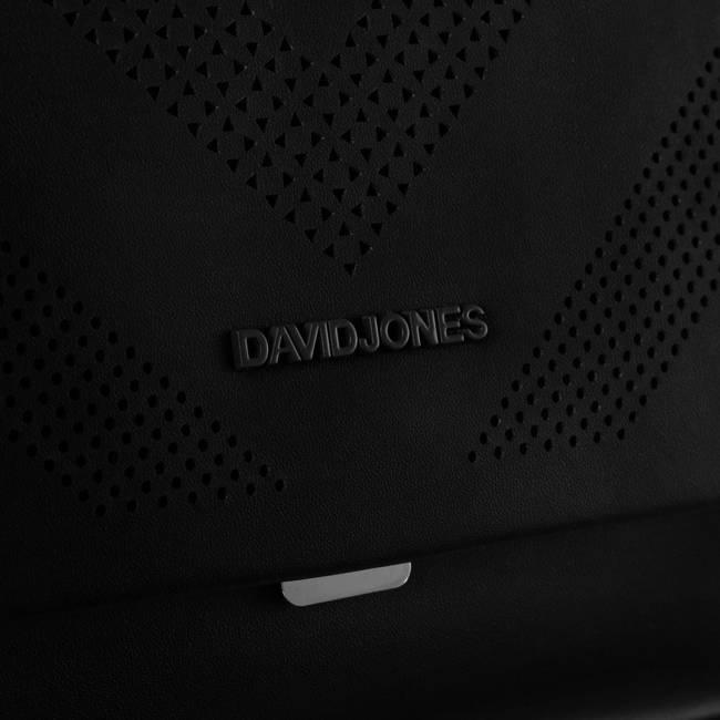 Listonoszka damska czarna David Jones 6281-1 BLACK