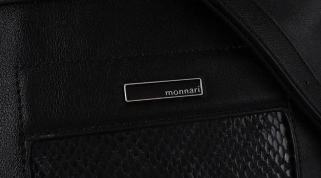 Listonoszka damska czarna Monnari BAG0510-020