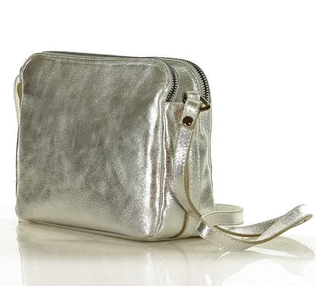 Listonoszka damska srebrna MARCO MAZZINI L156z