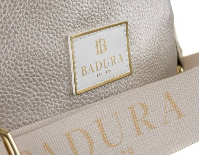 Listonoszka damska srebrna perłowa Badura T_D223PERL_CD