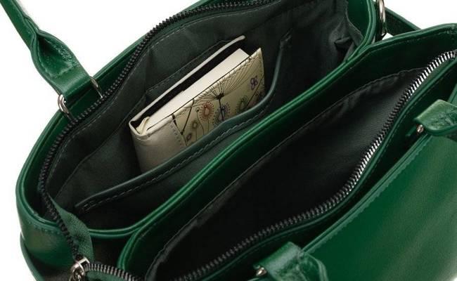Listonoszka damska zielona David Jones CM6043 GREEN