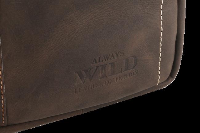 Listonoszka męska brązowa Always Wild 250840-MH-6524 BROWN
