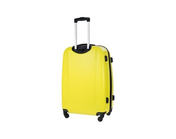 Mała walizka kabinowa 55x35x22cm ABS STL856 żółta