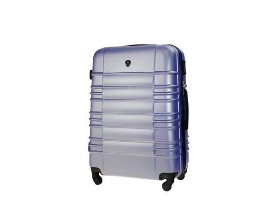 Mała walizka kabinowa ABS 55x37x24cm STL838 lawendowa