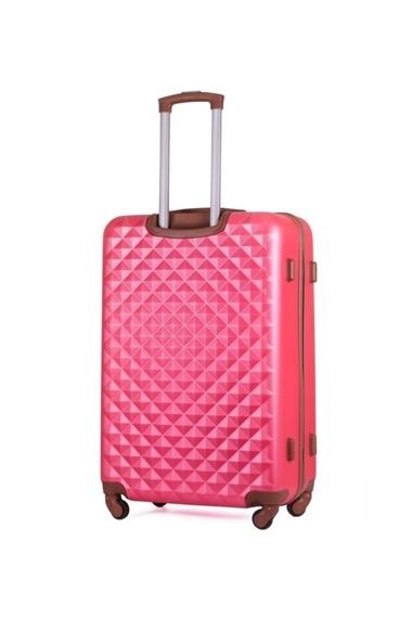 Mała walizka kabinowa S stl190 różowa