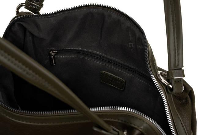 Miejski shopper khaki David Jones CM6255 D.KHAKI